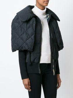Дутая Куртка-Накидка Moncler                                                                                                              черный цвет