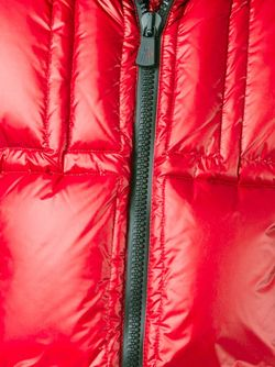 Пуховик С Капюшоном Moncler Grenoble                                                                                                              красный цвет