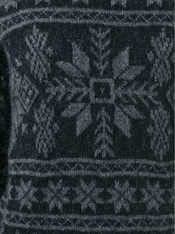 Fair Isle Sweater Moncler                                                                                                              черный цвет