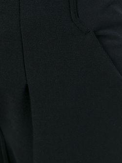 Укороченные Брюки С Заниженной Проймой Rick Owens                                                                                                              черный цвет