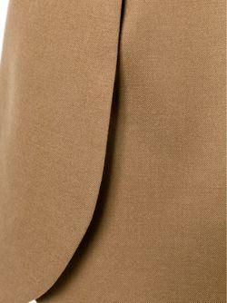 Юбка С Закругленными Панелями Tory Burch                                                                                                              коричневый цвет