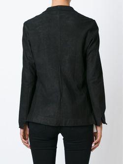 Кожаный Блейзер SALVATORE SANTORO                                                                                                              черный цвет
