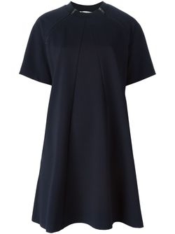 Платье-Футболка С Короткими Рукавами Hache                                                                                                              синий цвет
