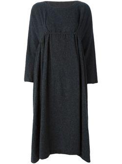 Платье Свободного Кроя DANIELA GREGIS                                                                                                              серый цвет