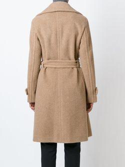 Пальто С Объемными Лацканами Akris                                                                                                              Nude & Neutrals цвет