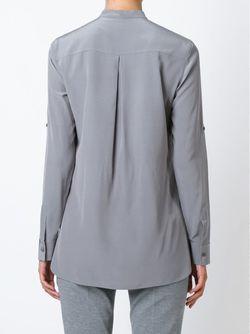 Рубашка С Воротником-Стойкой Akris                                                                                                              серый цвет
