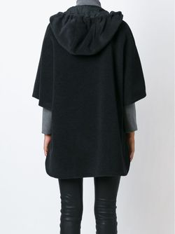 Свободное Пальто С Капюшоном Akris                                                                                                              черный цвет