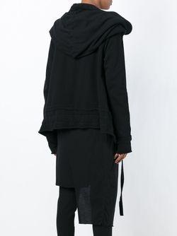 Драпированная Спортивная Куртка С Капюшоном Barbara I Gongini                                                                                                              чёрный цвет