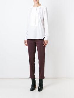 Блузка С Нагрудником Etro                                                                                                              белый цвет
