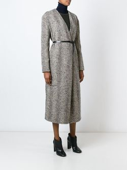 Long Belted Wrap Coat LEMAIRE                                                                                                              Nude & Neutrals цвет