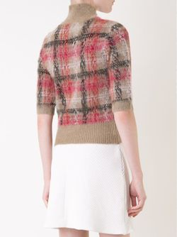 Plaid Sweater Carven                                                                                                              коричневый цвет