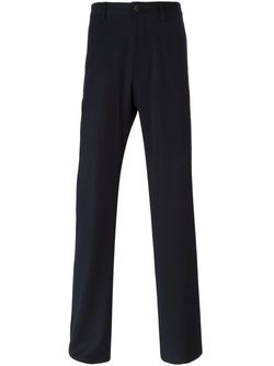 Regular Fit Trousers Giorgio Armani                                                                                                              синий цвет