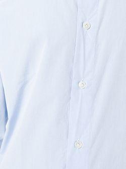 Классическая Рубашка На Пуговицах Eleventy                                                                                                              синий цвет