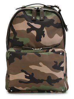 Camouflage Backpack Valentino Garavani                                                                                                              зелёный цвет