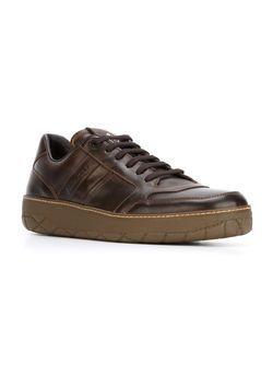 Кеды Theo Moncler                                                                                                              коричневый цвет