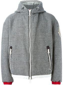 Дутая Куртка В Клетку MONCLER X AMI                                                                                                              чёрный цвет