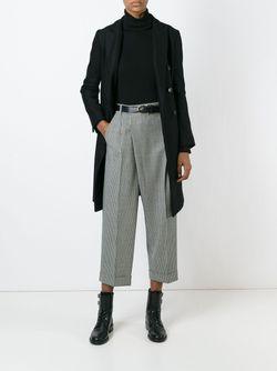 Двубортное Пальто Alberto Biani                                                                                                              черный цвет