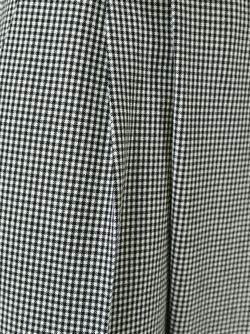 Укороченные Брюки В Клетку Гингем Alberto Biani                                                                                                              черный цвет
