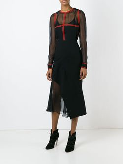 Топ С Контрастной Отделкой Givenchy                                                                                                              черный цвет