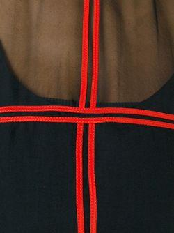 Топ С Контрастной Отделкой Givenchy                                                                                                              чёрный цвет