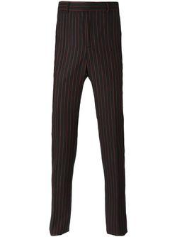 Брюки В Тонкую Полоску Givenchy                                                                                                              черный цвет