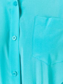 Рубашка С Нагрудным Карманом DKNY                                                                                                              синий цвет