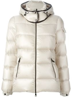 Hooded Padded Jacket Moncler                                                                                                              белый цвет