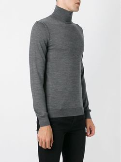 Roll Neck Sweater Paolo Pecora                                                                                                              серый цвет