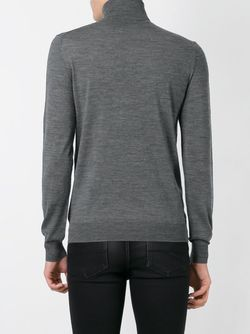 Roll Neck Sweater Paolo Pecora                                                                                                              серый цвет