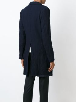 Однобортное Пальто Y'S                                                                                                              синий цвет
