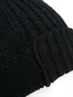 Шапка-Бини В Рубчик THE VIRIDI-ANNE                                                                                                              чёрный цвет
