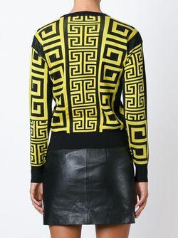 Свитер Greek Versace                                                                                                              чёрный цвет