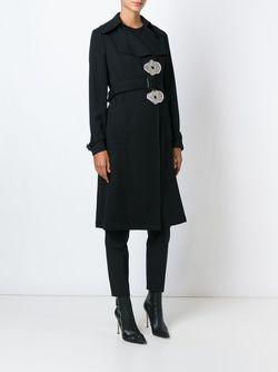 Пальто С Пуговицами В Форме Цветков J.W. Anderson                                                                                                              черный цвет