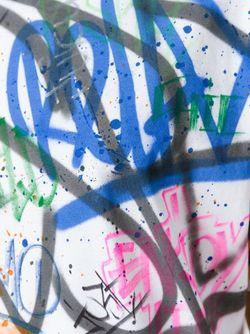 Футболка С Принтом-Граффити Faith Connexion                                                                                                              белый цвет
