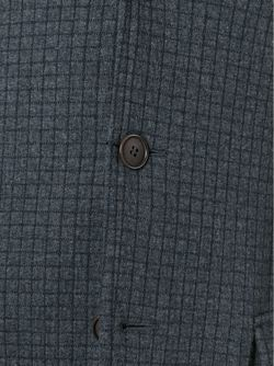 Блейзер В Клетку Giorgio Armani                                                                                                              серый цвет