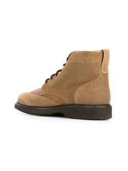 Ботинки С Меховой Отделкой Hogan                                                                                                              коричневый цвет
