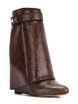 Ботинки Shark Tooth Givenchy                                                                                                              коричневый цвет