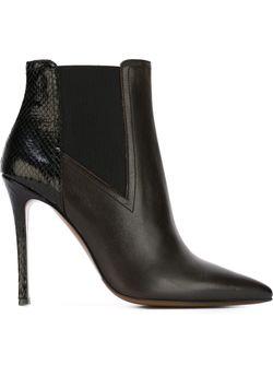 Ботинки По Щиколотку На Шпильке L' Autre Chose                                                                                                              чёрный цвет