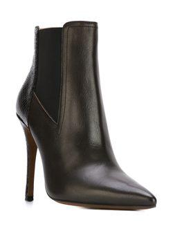 Ботинки По Щиколотку На Шпильке L' Autre Chose                                                                                                              черный цвет