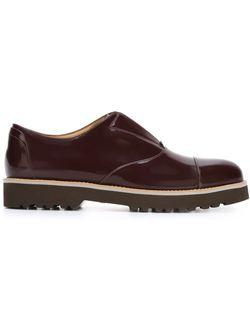 Ridged Rubber Sole Loafers Hogan                                                                                                              красный цвет