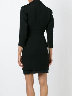 Платье В Байкерском Стиле Alexandre Vauthier                                                                                                              черный цвет