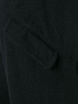 Спортивные Брюки С Манжетами В Рубчик THE VIRIDI-ANNE                                                                                                              чёрный цвет