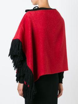Накидка С Бахромой Dolce & Gabbana                                                                                                              красный цвет