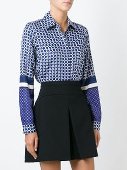 Geometric Pattern Shirt Michael Michael Kors                                                                                                              синий цвет