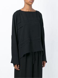 Блузка С Плиссировкой Ivan Grundahl                                                                                                              черный цвет