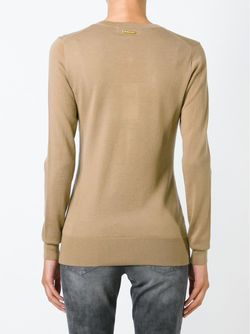 Свитер V-Neck Michael Michael Kors                                                                                                              коричневый цвет