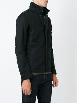 Куртка На Молнии Stone Island                                                                                                              чёрный цвет