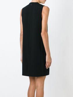 Платье С Воротником-Стойкой Theory                                                                                                              чёрный цвет