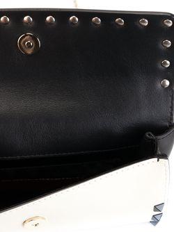 Сумка Rockstud С Двумя Откидными Клапанами Valentino Garavani                                                                                                              черный цвет