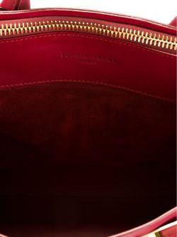 Средняя Сумка-Тоут Sophie Hulme                                                                                                              красный цвет